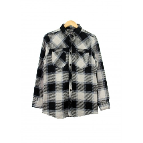 slim fit flanel gömlek
